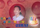 Happy birthday Gina!